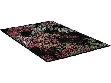 Impression Teppich »Vintage 1609«, rechteckig, Höhe 13 mm, schwarz, 13 mm, schwarz