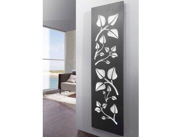 SZ METALL Designheizkörper »Leaves «, weiß, 120 cm, silberfarben/weiß