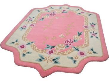 THEKO Teppich »Lifou«, blumenförmig, Höhe 14 mm, rosa, 14 mm, rosa
