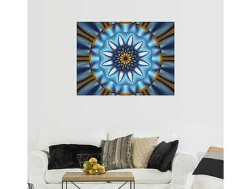 Posterlounge Wandbild - Christine Bässler »Mandala Erleuchtung«, bunt, Leinwandbild, 160 x 120 cm, bunt