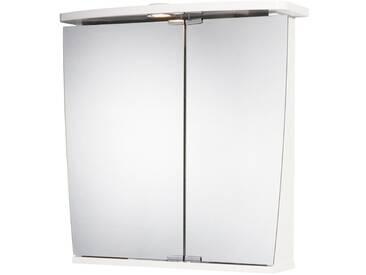 jokey Jokey Spiegelschrank »Numa« Breite 58 cm, mit LED-Beleuchtung, weiß, weiß