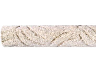 Andiamo ANDIAMO Teppichboden »Amberg«, verschiedene Farben, Breite 400 cm, Meterware, weiß, cremefarben