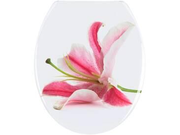 WENKO Wenko WC-Sitz »Orchid«, bunt, bunt
