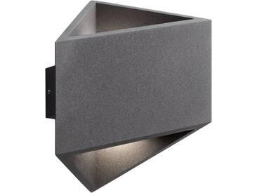 AEG Lakil LED Außenwandleuchte 2flg anthrazit, grau, anthrazit