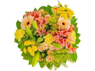 FLOWRFRAME Blumenstrauß »18 bunte gemischte Blumen«, gelb, gelb