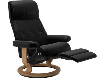 Stressless® Relaxsessel »Sky« mit Classic Base und LegComfort™, Größe M, Gestell naturfarben, schwarz, black BATICK