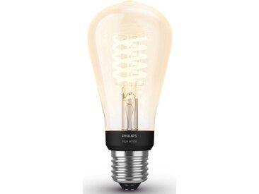 Philips Hue »White Filament Einzelpack 1x550lm Edison Form« LED-Leuchtmittel, E27, 1 Stück, Extra-Warmweiß