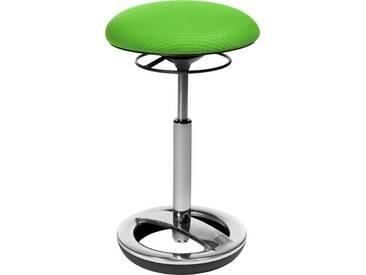 TOPSTAR Dreh-Hocker »Sitness High Bob«, grün, Aluminium poliert, grün