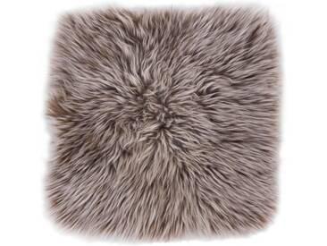 LUXOR living Fellteppich »Lammfell«, quadratisch, Höhe 30 mm, Sitzauflage aus echtem Lammfell, natur, 34x34 cm, 30 mm, 30 mm, camelfarben