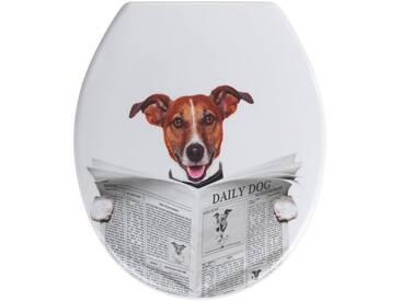 WENKO WC-Sitz »Daily Dog«, weiß, weiß