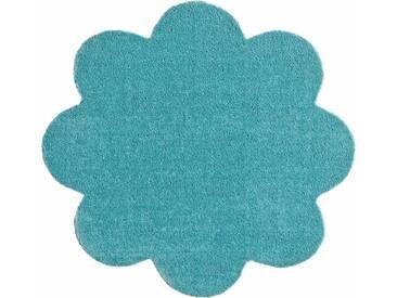 HANSE Home Fußmatte »Deko Soft«, blumenförmig, Höhe 7 mm, saugfähig, waschbar, grün, 7 mm, mint
