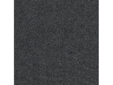 Teppichfliese »Trend«, 4 Stück (1 m²), selbstliegend, grau, dunkelgrau