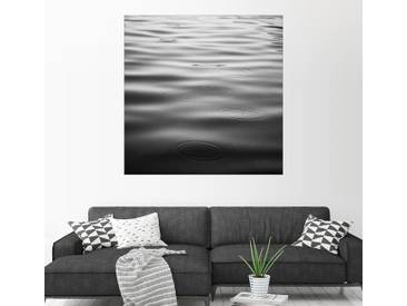Posterlounge Wandbild - Brookview Studio »Regentage«, grau, Leinwandbild, 100 x 100 cm, grau