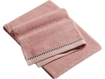 Esprit Handtücher »Box Solid«, mit Bordüre, rosa, rose