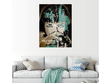 Posterlounge Wandbild - Albert Cagnef »Pulp Fiction«, bunt, Holzbild, 120 x 160 cm, bunt