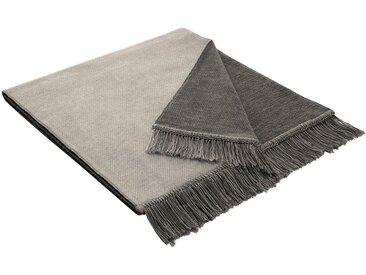 BIEDERLACK Sofaläufer »Salt«, mit Wendemöglichkeit, grau, Baumwolle-Kunstfaser, anthrazit