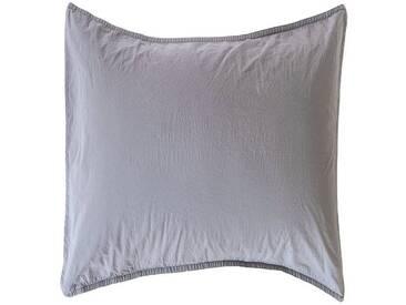 Casa di Bassi Kissenhüllen »BASIC SOFT TOUCH«, ÖkoTex 100 Standard 100, grau, Baumwolle, grau