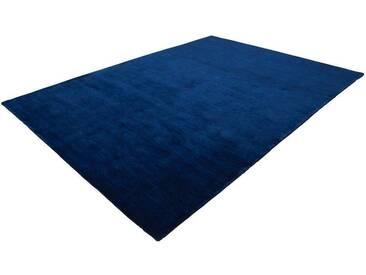 LALEE Wollteppich »Supreme 800«, rechteckig, Höhe 13 mm, blau, 13 mm, dunkelblau