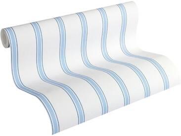 Esprit Papiertapete, »fein strukturierte Kids Tapete Space«, blau, blau;weiß