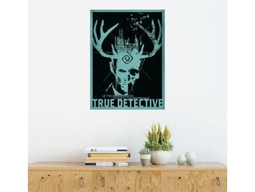 Posterlounge Wandbild - Albert Cagnef »True Detective«, bunt, Holzbild, 120 x 160 cm, bunt