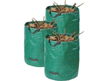 meister MEISTER Gartensack , 272 l, 3 Stück, grün, grün