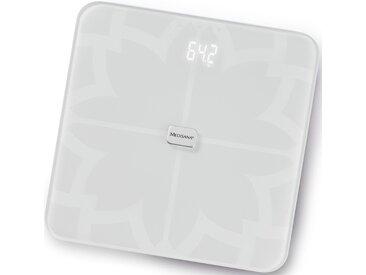 Medisana Körper-Analyse-Waage »BS 450 connect«, mit Bluetooth, weiß, weiß
