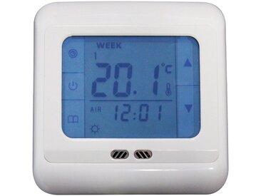 Römer Infrarot Heizsysteme RÖMER Infrarot Heizsysteme Thermostat »RITH Touch«, mit Touchscreen und Fußbodensensor, weiß, weiß