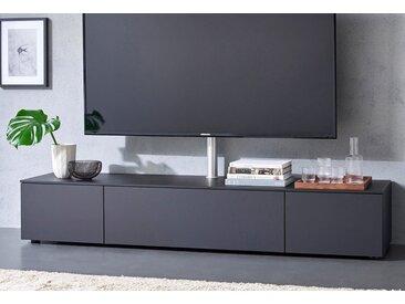 SPECTRAL Lowboard »Select« wahlweise mit TV-Halterung, Breite 200 cm, schwarz, TV Paket, schwarz
