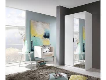 rauch PACK´S Kleiderschrank »Freiham«, mit Spiegel, weiß, Breite 91 cm, 2-türig, weiß