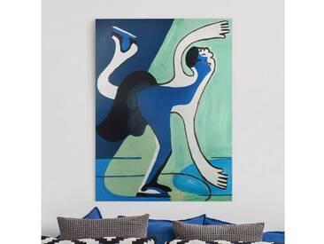 Bilderwelten Leinwandbild »Ernst Ludwig Kirchner - Eisläuferin«, Farbig
