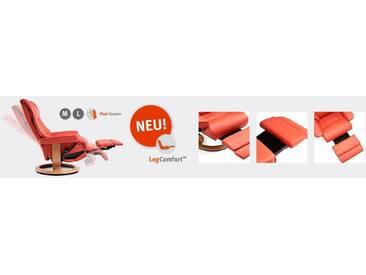 Stressless® Relaxsessel »Garda« mit Classic Base und LegComfort™, Größe L, mit Schlaffunktion, grau, Fuß naturfarben, wild dove