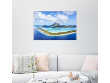 Posterlounge Wandbild - Matteo Colombo »Bora Bora«, bunt, Leinwandbild, 30 x 20 cm, bunt