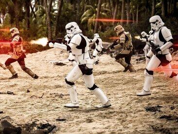 Komar Vliestapete »Star Wars Imperial Strike«, Comic