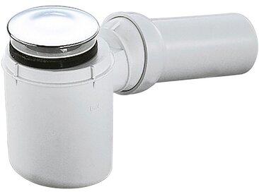 Schulte SCHULTE Geruchsverschluss für flache Duschwannen, waagerecht, weiß