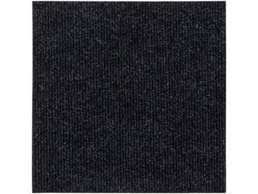 Andiamo ANDIAMO Teppichfliese »Rippe«, 4 Stück (1 m²) selbstklebend in beige, schwarz, schwarz