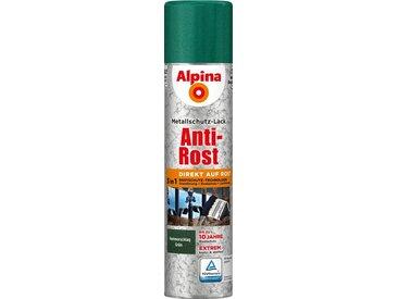 Alpina ALPINA Metallschutzlack »Anti-Rost Spray Hammerschlag«, 3 in1, 400 ml, grün, grün