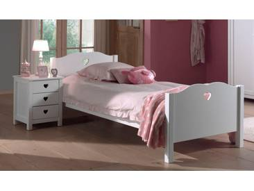 Vipack Furniture Bett »Amori«, weiß, weiß