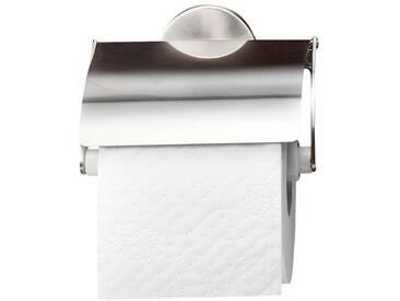 FACKELMANN Fackelmann Toilettenpapierhalter »Fusion«, silberfarben, silberfarben
