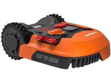 Worx WORX Rasenmähroboter »WR142E LANDROID M700«, bis 700 m² Rasenfläche, mit Akku und Ladestation, orange, orange