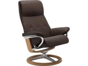 Stressless® Relaxsessel »Sky« mit Signature Base, Größe M, Gestell naturfarben, braun, brown BATICK