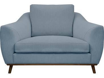 DELAVITA Delavita Sessel »Sarah« in skandinavischem Design mit Holzbeinen, grün, petrol