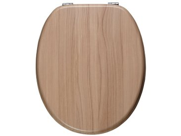 ADOB WC-Sitz »Ascoli«, braun, nussfarben