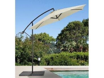 garten gut GARTEN GUT Ampelschirm »Sunshine«, H/Ø: 210/300 cm, natur, 300 cm, natur