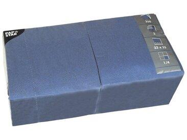 PAPSTAR 250er-Pack Servietten, blau, dunkelblau