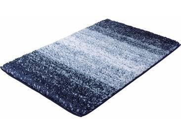 Kleine Wolke Badematte »Oslo« , Höhe 30 mm, rutschhemmend beschichtet, fußbodenheizungsgeeignet, blau, 30 mm, mare