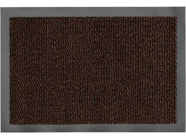 HANSE Home Fußmatte »Faro Line«, rechteckig, Höhe 10 mm, braun, 10 mm, braun