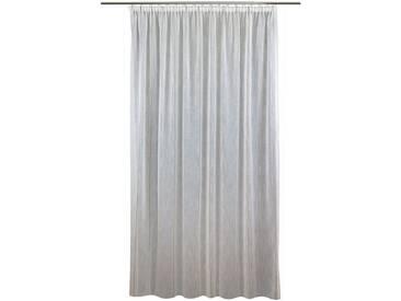 VHG Vorhang nach Maß »Joris«, Kräuselband (1 Stück), Natur, Leinen, Deko, grau, Kräuselband, blickdicht, grau