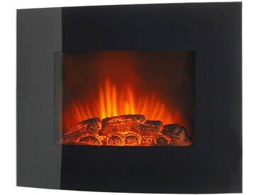 Elektrisches Kaminfeuer »Örebo«, 2000 W, B/T/H: 66x15x52 cm, mit Fernbedienung, schwarz, schwarz