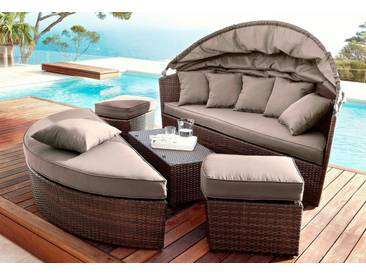 MERXX Schutzhülle »Multi Lounge«, Loungebett, (L/B/H) 177x162x83 cm, grün, 162 cm x 177 cm, grün
