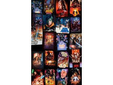 Komar Vliestapete »Star Wars Posters Collage«, Comic